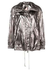 Jason Wu metallic structured jacket - Silver