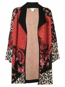 Alice+Olivia Hester cardi-coat - Red
