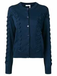 See By Chloé appliqué detail cardigan - Blue