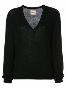 Khaite V neck jumper - Black