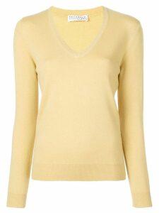 Brunello Cucinelli cashmere jumper - Yellow