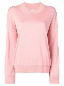 Calvin Klein crew neck jumper - Pink