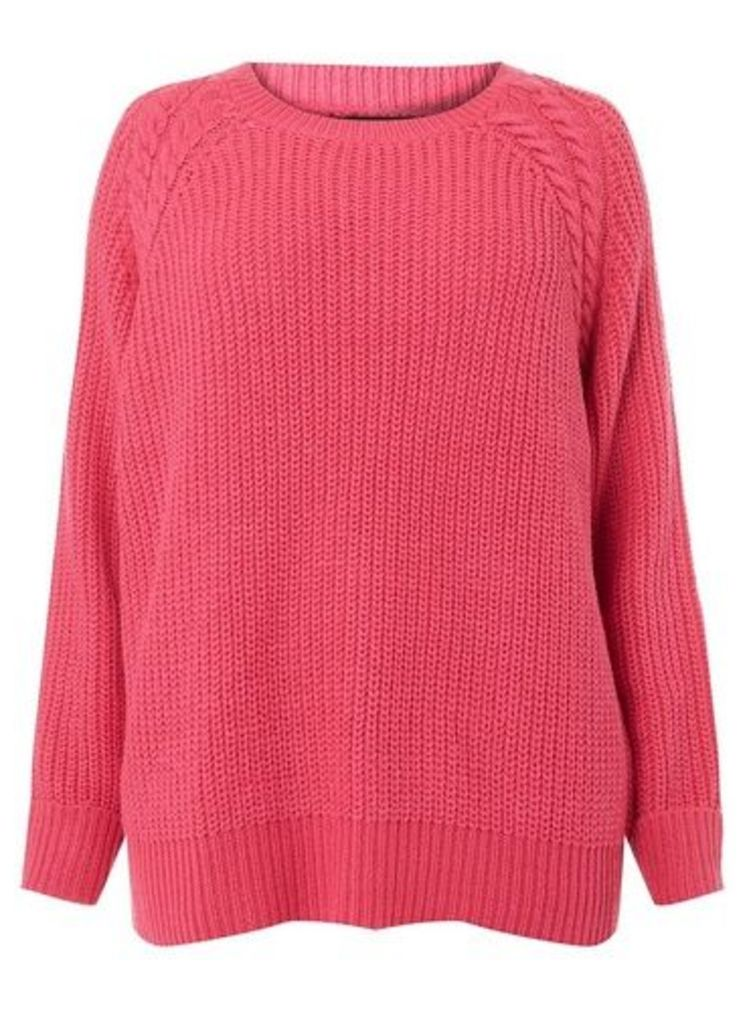 Womens **Dp Curve Pink Betty Jumper- Pink, Pink