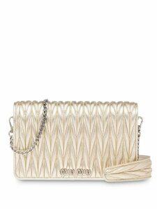 Miu Miu Délice clutch bag - Gold