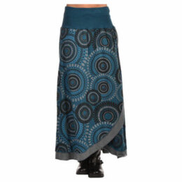 Namaste  Skirt  women's Skirt in Grey