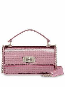 Miu Miu Miu Cleo sequin shoulder bag - Pink