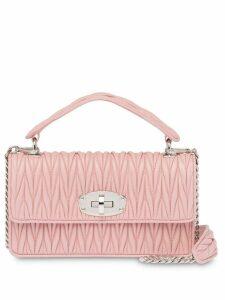 Miu Miu Miu Cleo Matelassé bag - Pink