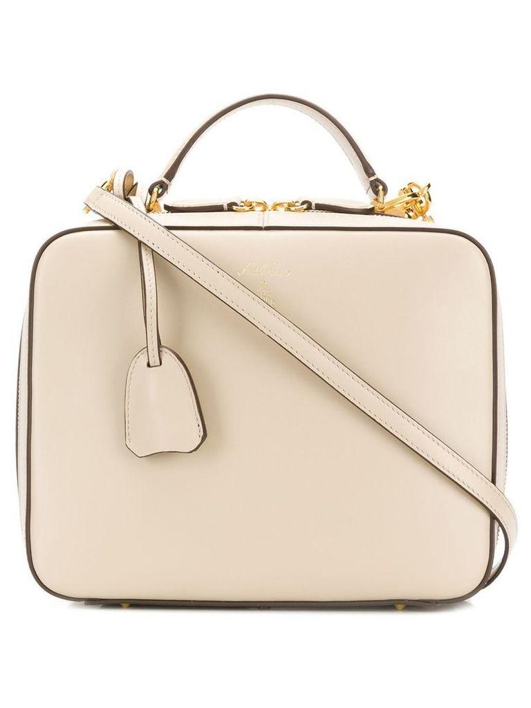 Mark Cross top handle tote bag - Neutrals