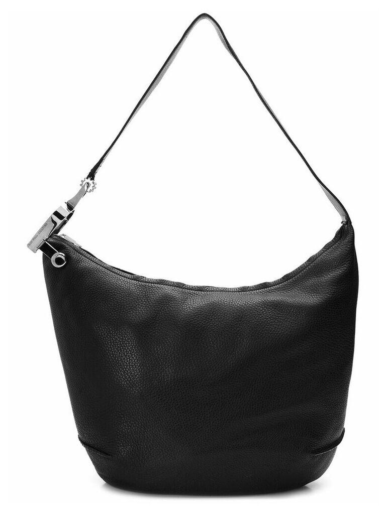 Jean Paul Gaultier Vintage pebble leather handbag - Black