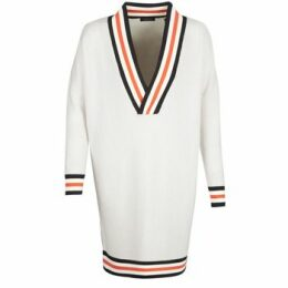 Maison Scotch  WHITE LONG SLEEVES  women's Sweater in White
