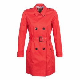 Esprit  VIDALI  women's Trench Coat in Red