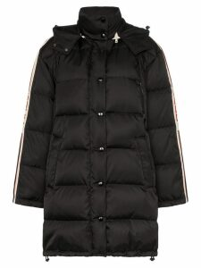 Gucci oversized hooded puffer coat - Black
