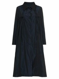 Molly Goddard X Browns pluto taffeta coat - Blue