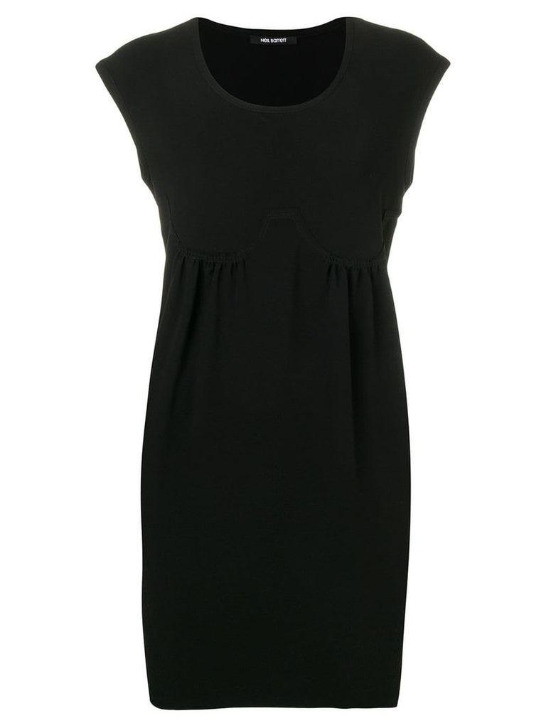 Neil Barrett casual shift dress - Black