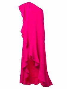 Givenchy ruffled asymmetric dress - Pink