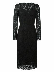 Dolce & Gabbana lace fitted dress - Black