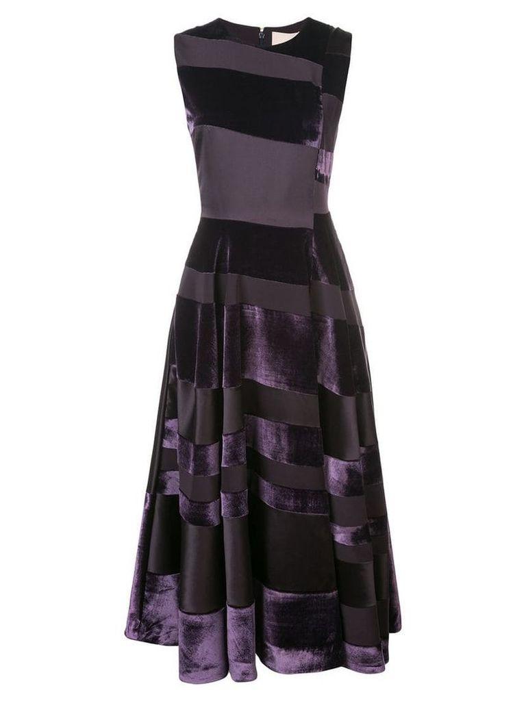 Roksanda striped midi dress - Purple