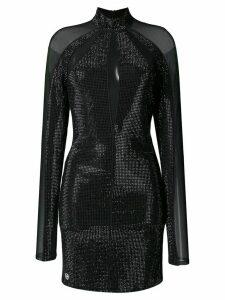 Philipp Plein Crystal dress - Black
