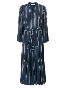 Tory Burch striped shirt dress - Blue