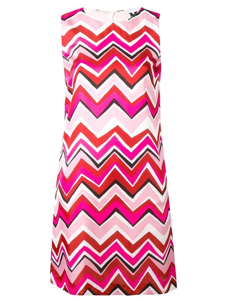 M Missoni geometric printed dress - White