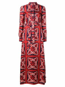 Valentino bandana print dress - Red