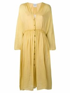 Forte Forte buttoned up dress - Yellow