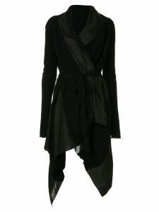 Masnada asymmetric cashmere dress - Black
