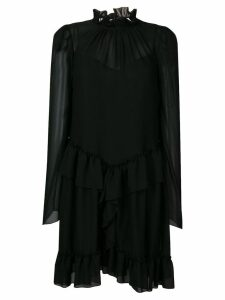 See By Chloé layered ruffle dress - Black