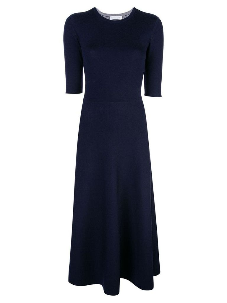 Gabriela Hearst flared dress - Blue