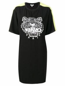 Kenzo tiger-print T-shirt dress - Black