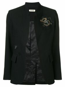 Zadig & Voltaire Very gem embellished blazer - Black