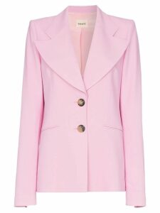 Khaite Alexis single-breasted blazer - Pink