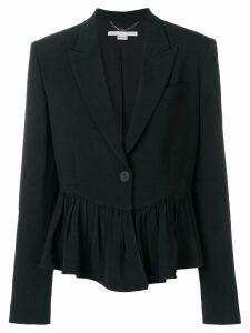 Stella McCartney peplum blazer - Black