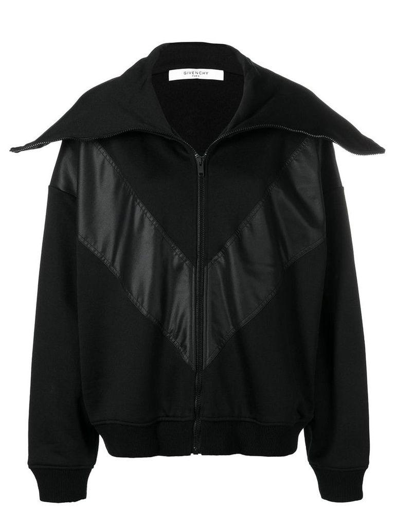 Givenchy oversized collar jacket - Black