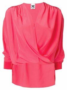 M Missoni wrap-around blouse - Pink