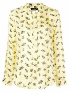 Isabel Marant patterned blouse - Yellow