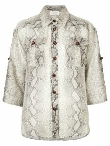 Zimmermann Safari shirt - Multicolour