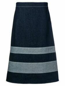 Marni A-line denim skirt - Blue
