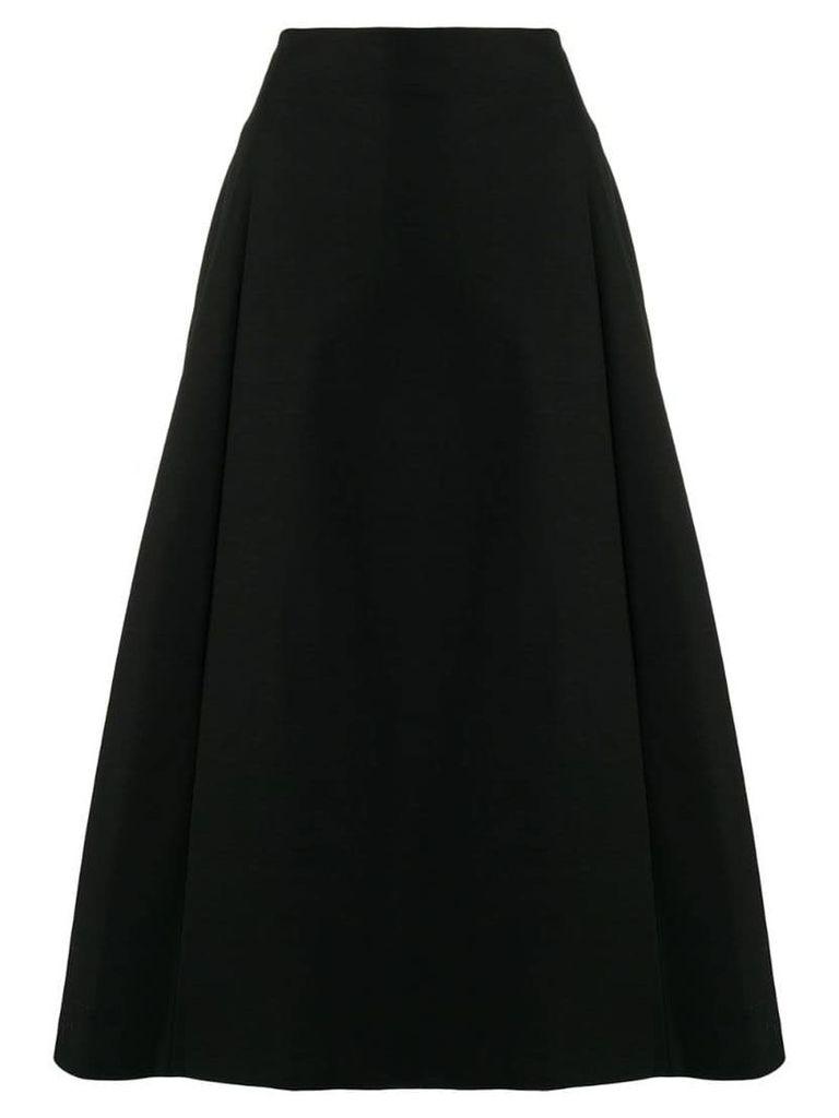 Theory A-line midi skirt - Black