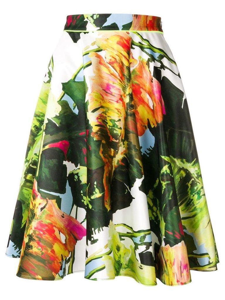 Blugirl printed midi skirt - Green