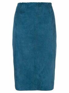 Stouls Gilda pencil skirt - Blue
