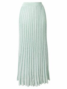 Missoni glitter knitted skirt - Green