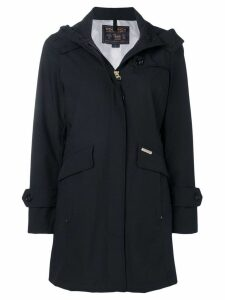Woolrich hooded coat - Black