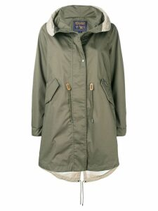 Woolrich hooded parka coat - Green