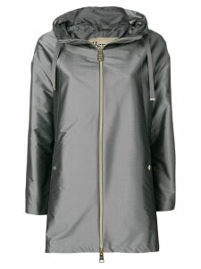 Herno Shiny A-Shape jacket - Grey