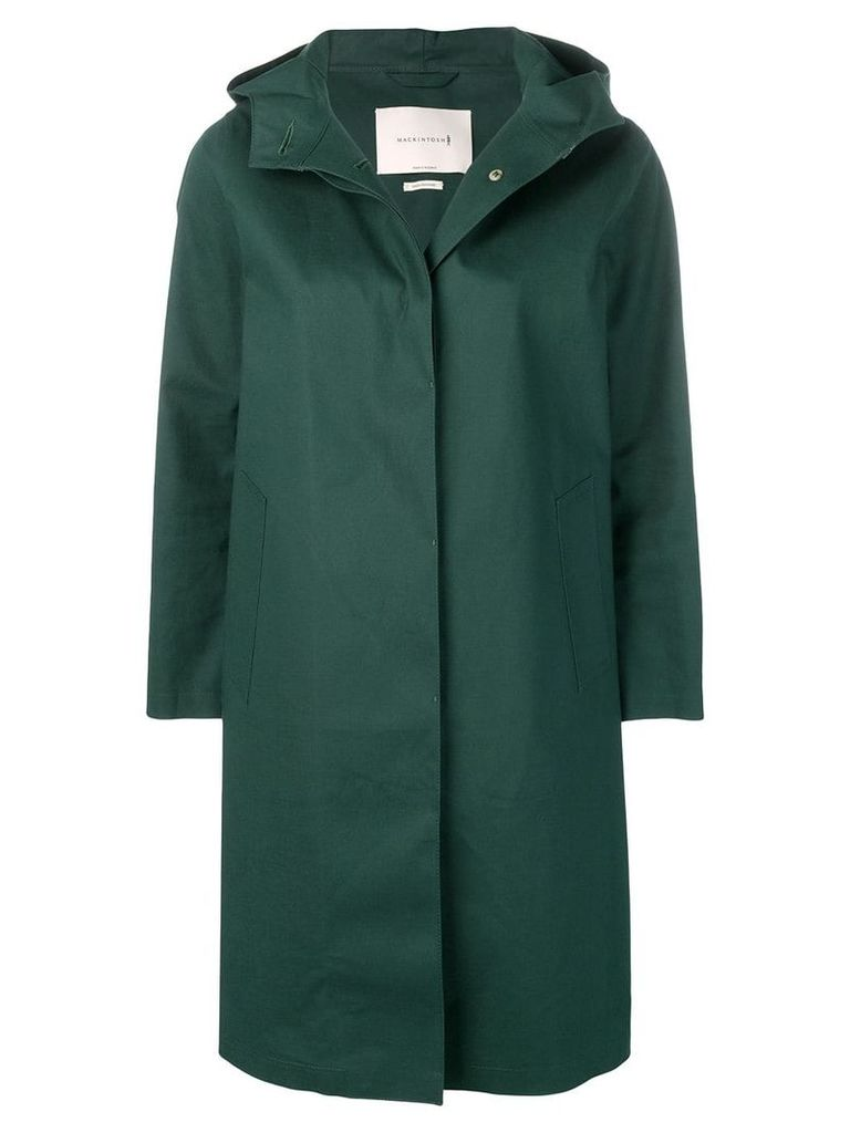 Mackintosh Cedar Green Bonded Cotton Hooded Coat LR-021