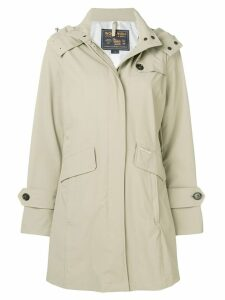 Woolrich hooded coat - Neutrals