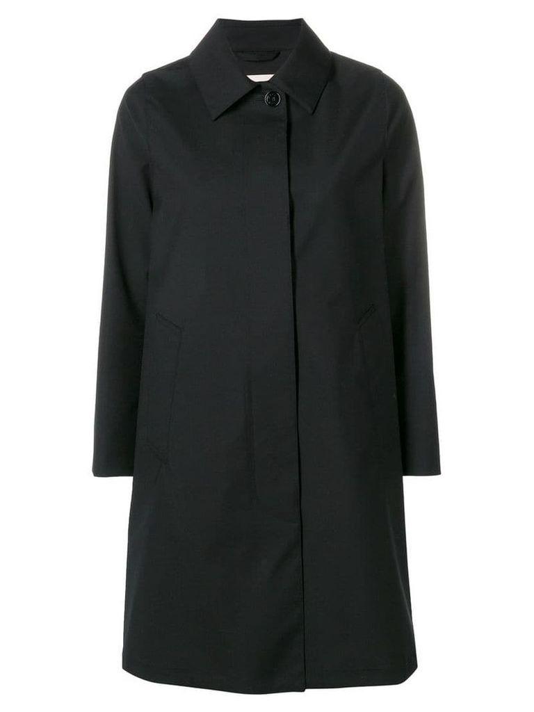 Mackintosh Black Wool Storm System Coat LM-020BS/SH
