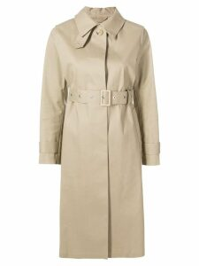 Mackintosh Fawn Bonded Cotton Single Breasted Trench Coat LR-061 -