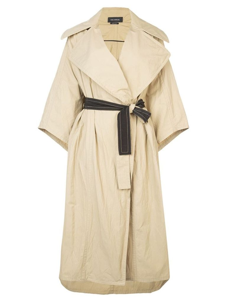 Yigal Azrouel oversized trench coat - Neutrals